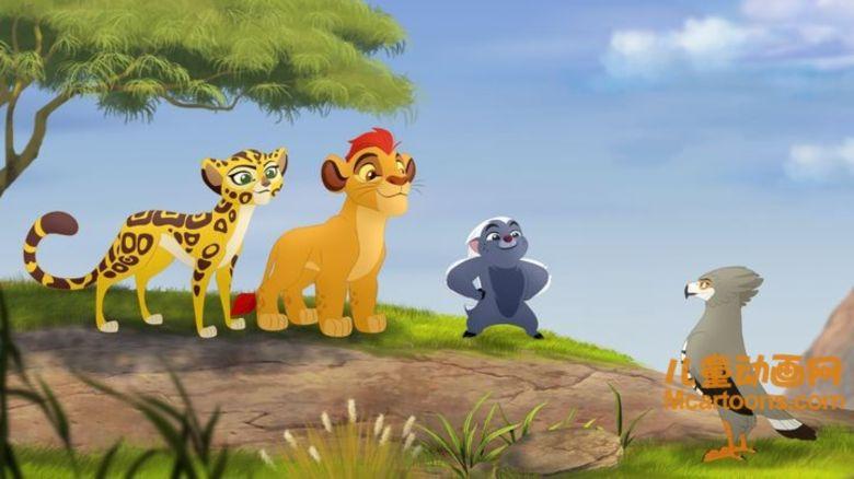 迪士尼动画片《小狮王守护队 The Lion Guard》全28集 国语版28集+英语版28集 720P/MP4/8.24G 动画片小狮王守护队下载插图(3)